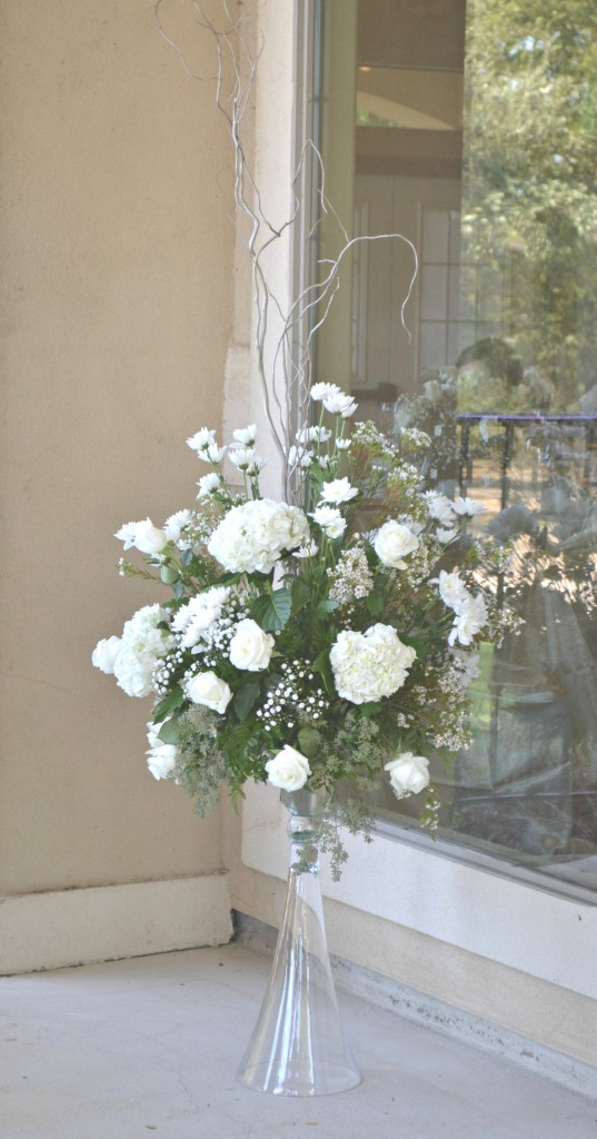 cream and white wedding arrangements wilsons floral design helotes tx