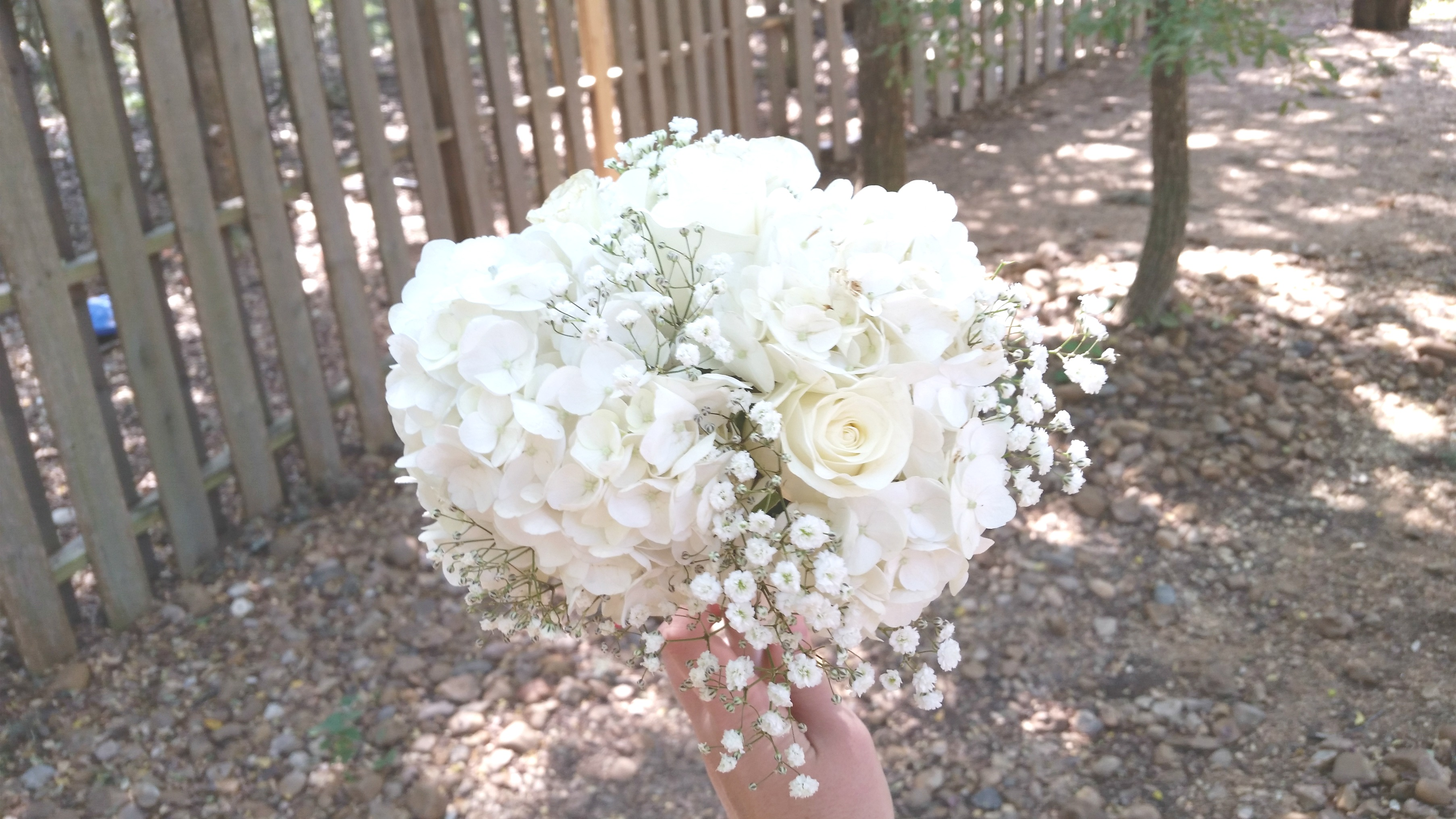 white and cream wedding bouquet wilsons floral design