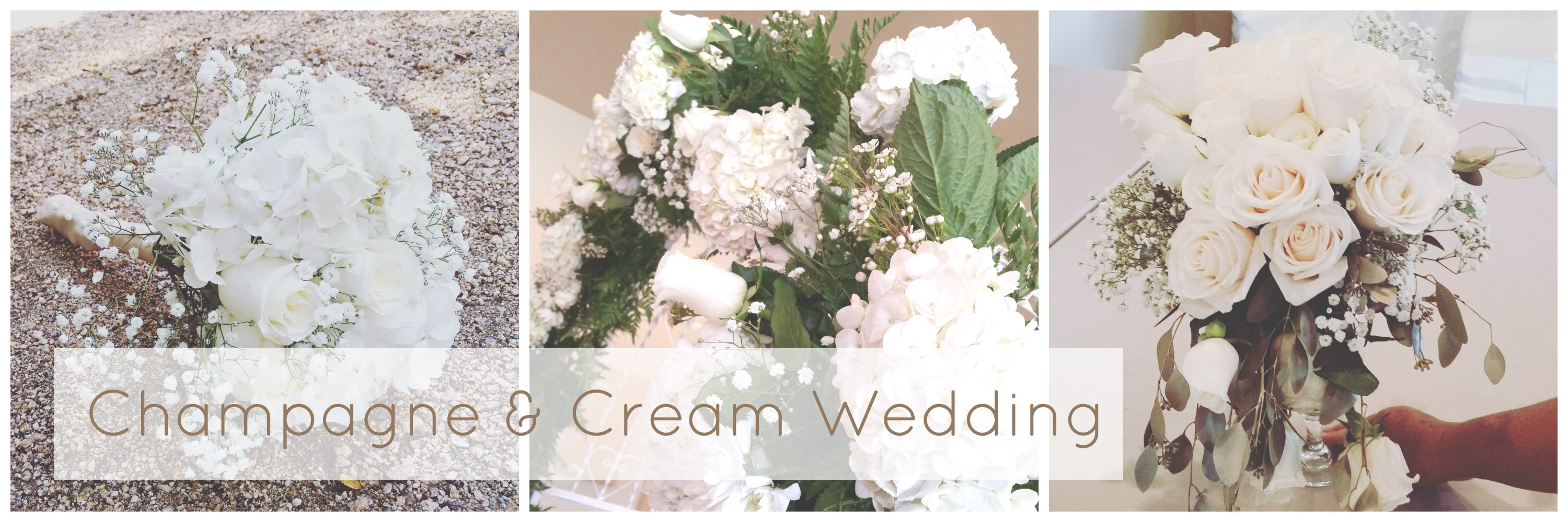 Elegant Champagne and Cream Wedding – Wilson\'s Floral Design
