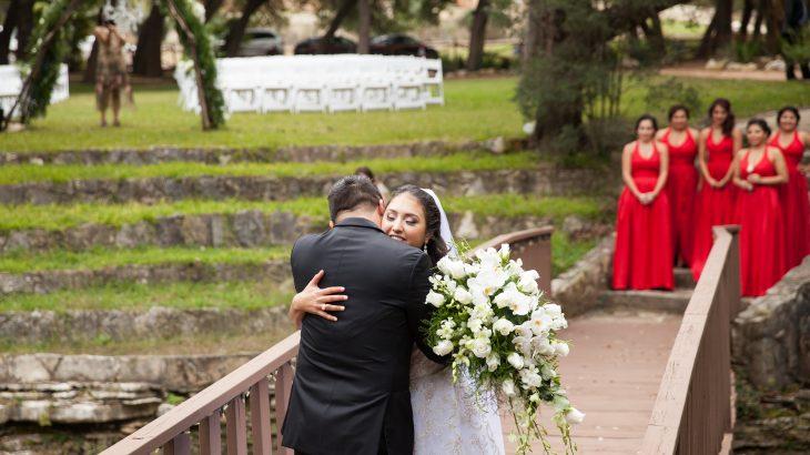 Elegant Red And White Helotes San Antonio Wedding Wilson
